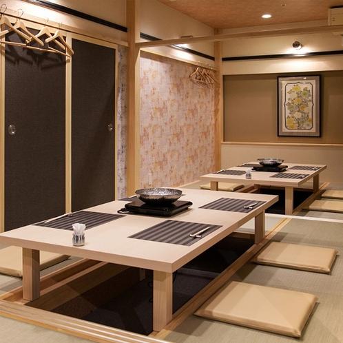 【お食事処「加賀や」】お食事は2階個室にて。