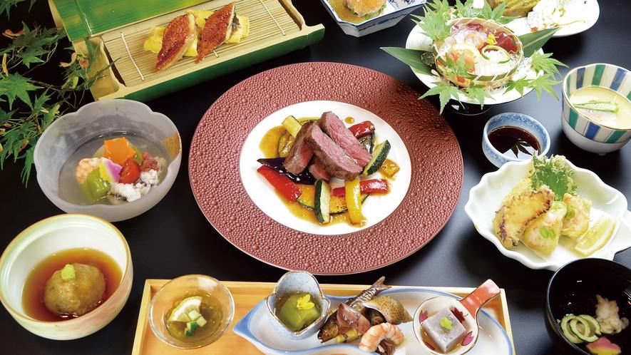 【料理】2021夏の贅沢会席(ステーキ)