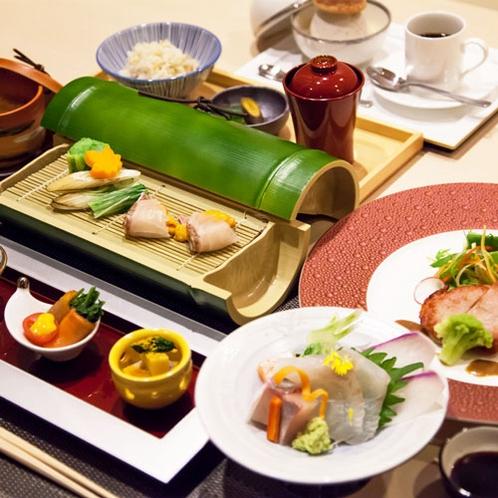 【こだわり会席】瀬戸内の魚介・吉備高原の旬の味覚をご賞味ください(一例)