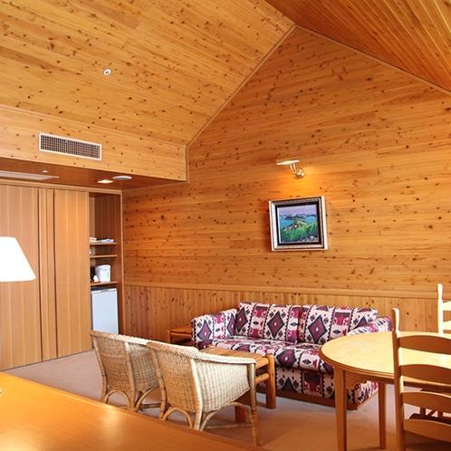 【部屋】デラックスツイン:広々とした客室となっておりますので、ゆっくりお寛ぎいただけます。(一例)