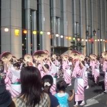 花笠祭 毎年8月5〜7日に行われます