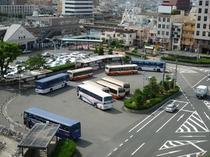 JR松山駅前バス乗り場