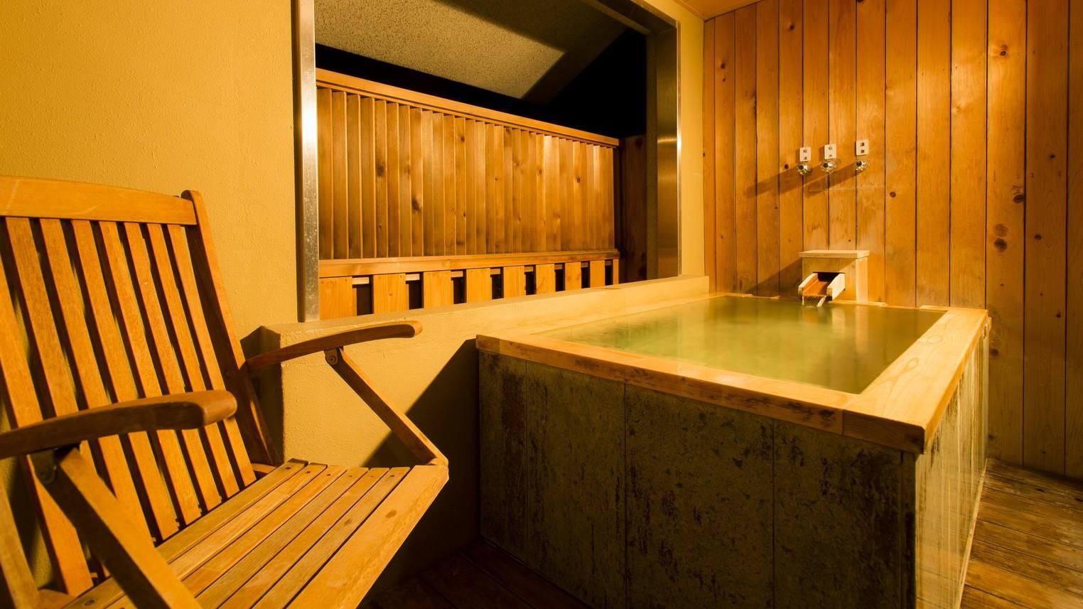 ☆「菊万葉」(半露天風呂)の温泉イメージ