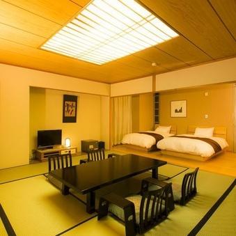 東館 和洋室(8畳+ツインベッドタイプ)【禁煙】