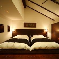 ロイヤルフロア菊万葉 フラットタイプのベッドルーム