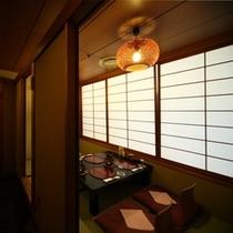 別府割鮮料理「浜菊」の半個室 座敷でゆっくり食事を楽しむならこちら