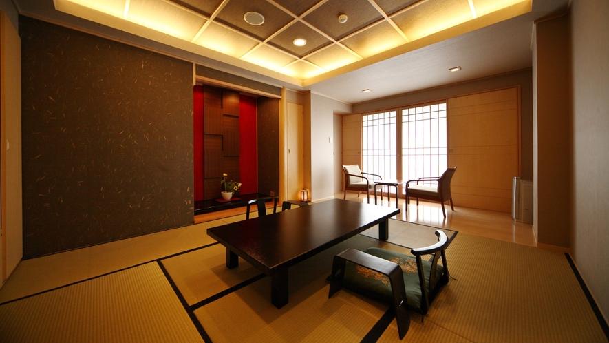 ☆本館・スパ・スイートルーム「菊万葉」(内風呂付)の和室イメージ