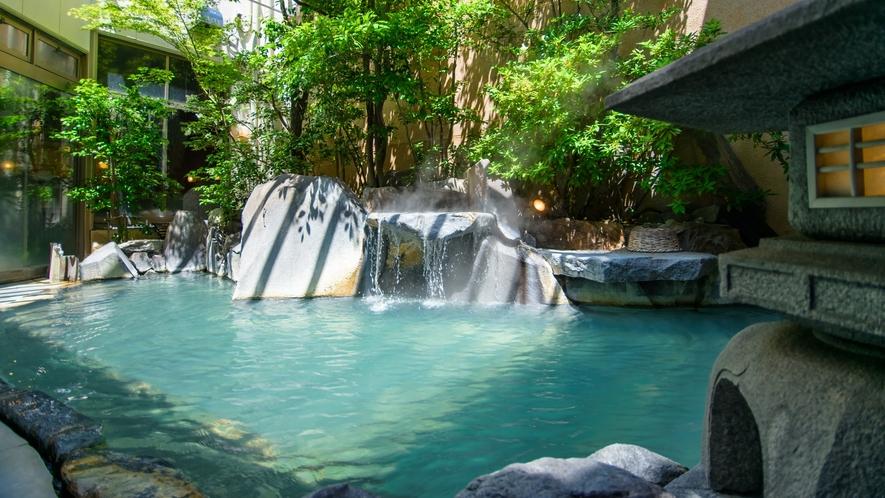 ☆菊湯殿の露天風呂(昼)