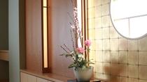 ☆本館・スパ・スイートルーム「菊万葉」(半露天風呂付)のしつらえ一例