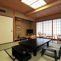 本館・和室8畳タイプの客室一例