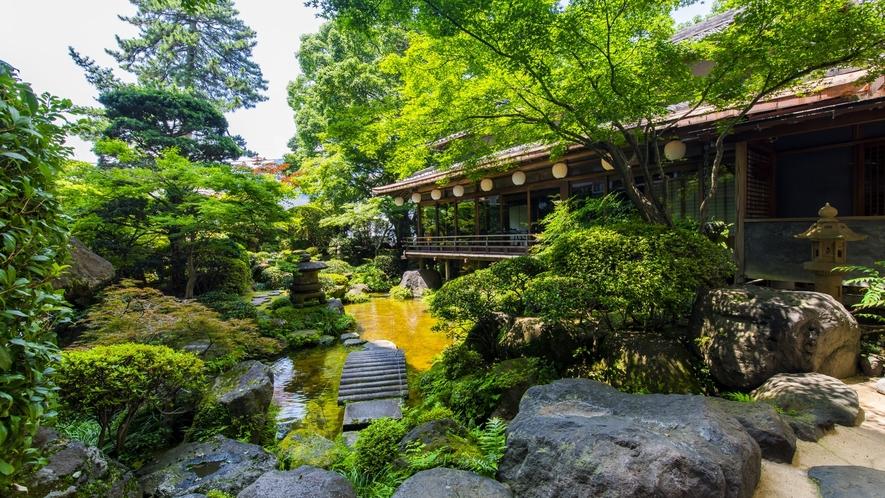 ☆夏 日本庭園