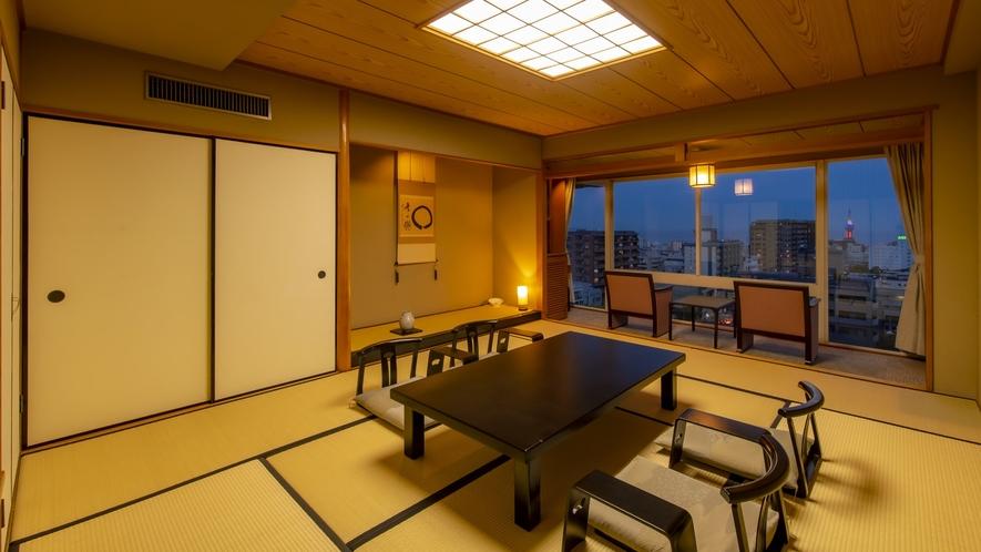 ☆本館 上層階(和室10畳タイプ)   客室一例