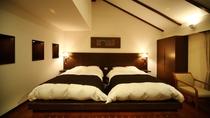 ☆本館・スパ・スイートルーム「菊万葉」(内風呂付)のベッドルームイメージ