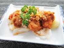 【ご夕食一例】油林鶏