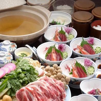 【冬期限定・二食付】◆雪鍋を囲んで皆んなで暖まろうプラン◆