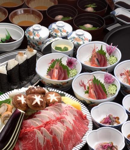 【マグマ焼き】牛肉の石焼コース