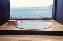 【屋上】貸切露天風呂/樽の湯