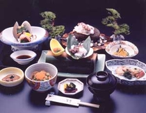 ご昼食例:蛸の踊り石焼