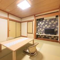 【18年4月リニューアル】<土~TSUCHI~>和室10畳客室206③