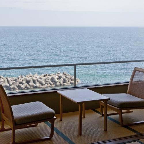 海側客室からの眺め