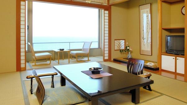 B.◆【部屋食】オーシャンビュー ◆海側 和室 10畳