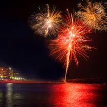 ちびっこ広場の花火