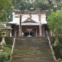 【西都市・都萬神社】ホテルより車で60分、木花開耶姫命を祀ります。