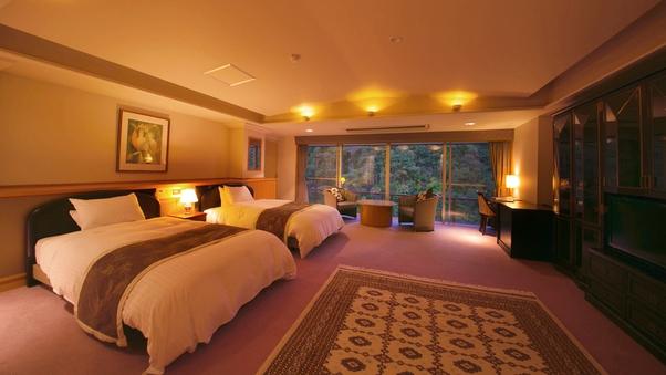 ◆貴賓室洋室◆23平米-ふたりっきりの寛ぎ【大人専用の客室】