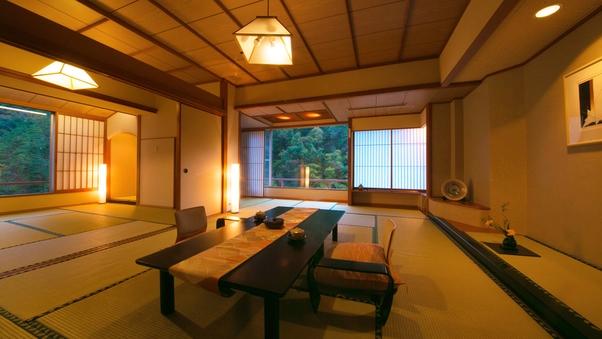 【宵待亭-特別室-禁煙】12.5畳+8畳-2間続きの空間-