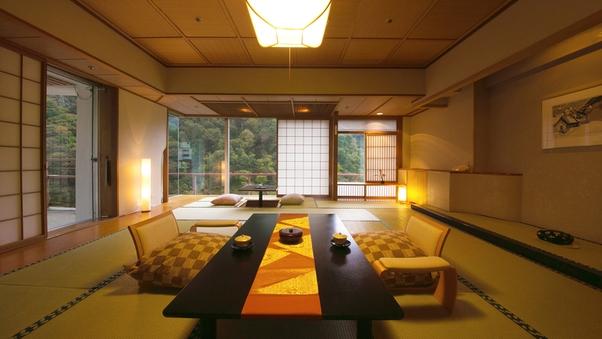 ■桐の間■14.5畳-木の温もりを抱く-【大人専用の客室】