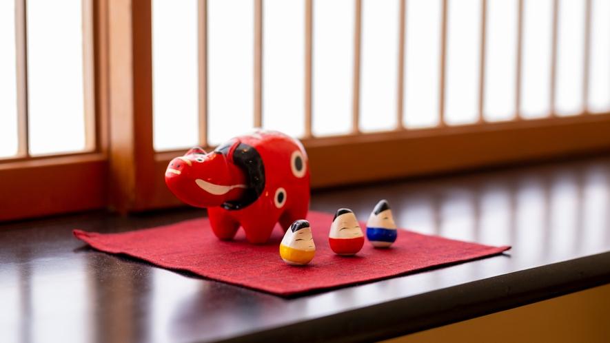 【宵待亭_木綿の間】地元会津の伝統工芸を肌で感じる、コンセプトルーム。