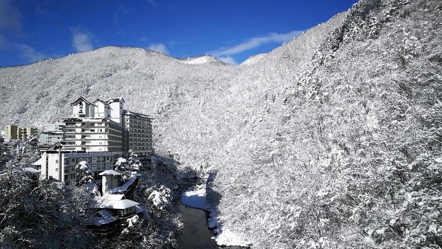 大川荘の四季【冬】