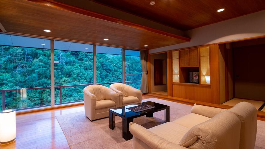 【貴賓室】優雅で心地良い。滞在に「この上ない贅沢感を」当館で<最もグレードの高い客室>での滞在を。