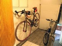 自転車お預かりします