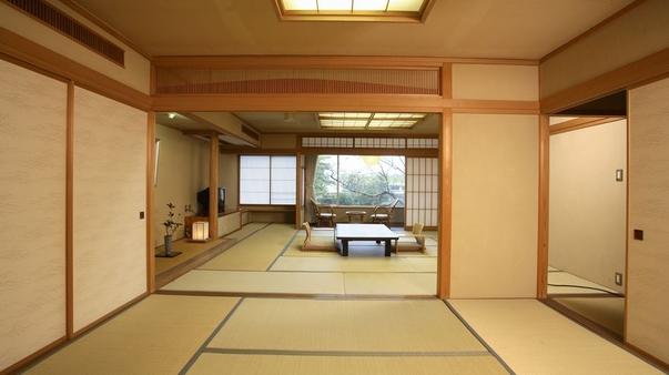 天台庭園側特別室(和室12.5帖+6帖)