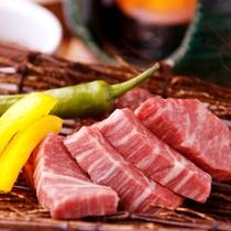 鳥取和牛の陶板焼き 【バイキング〜+1,000円で選べる料理一例〜】