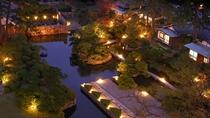 東光園の本格的日本庭園
