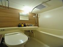 ◆ユニットバス シングル セミダブルダブル ツインルームの全客室にございます。