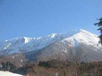 冬風景(大山)