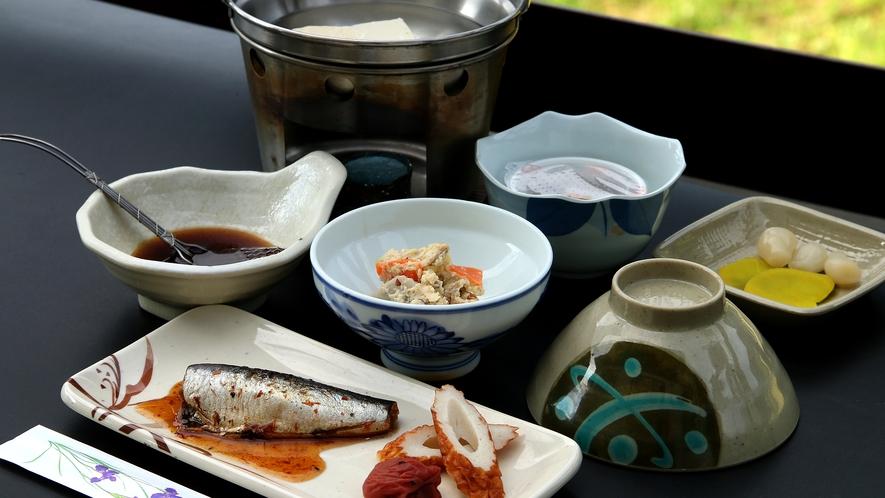 和と洋の選べる朝食(^♪朝はしっかり食べましょう♪