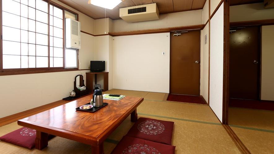 落ち着きのある雰囲気。二間続きの20畳和室!