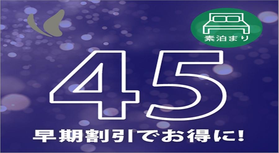 さき楽45☆45日前からの予約にピッタリ宿泊プラン☆(朝食なし)