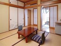 A露天風呂付き客室/例