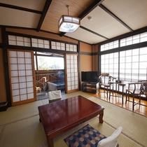 【部屋】A 露天風呂付客室2