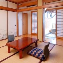 【部屋】A 露天風呂付客室