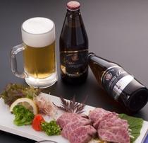 生ビールだけではなく、瓶ビールもご準備しておりますよ~。