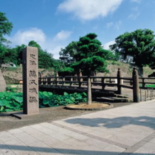 当館からのお散歩コース鶴丸城跡