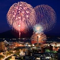 鹿児島市内最大規模の花火大会サマーナイト。