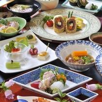 女性のお客様にも大好評!!ヘルシーな豆腐膳です。