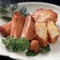 鹿児島の郷土料理のひとつ。さつま揚げです。